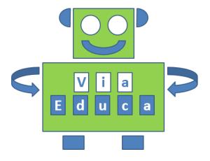 ViaEduca studiebegeleiding robot